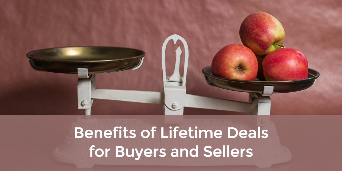 benefits of lifetime deals for buyers and sellers